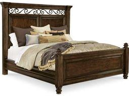 ART Furniture La Viera 18th Century Cherry Eastern King Size Panel Bed