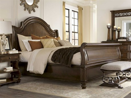 A.R.T. Furniture La Viera Sleigh Bedroom Set