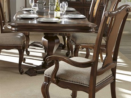 ART Furniture La Viera 18th Century Cherry Dining Arm Chair (Sold in 2)