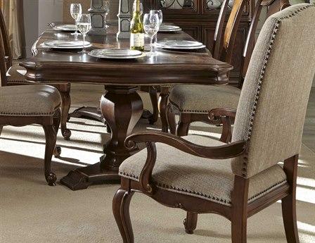 ART Furniture La Viera 18th Century Cherry Dining Arm Chair