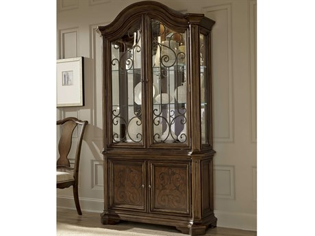 A.R.T. Furniture La Viera 18th Century Cherry China Cabinet