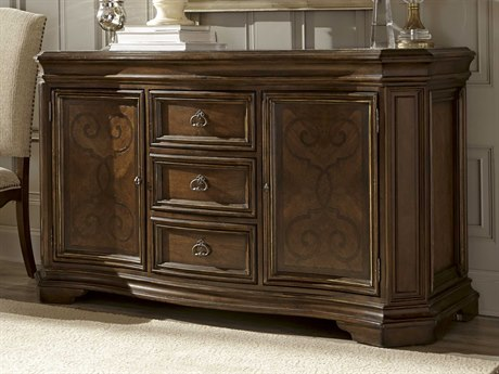ART Furniture La Viera 18th Century Cherry 60''L x 20''W Rectangular Buffet