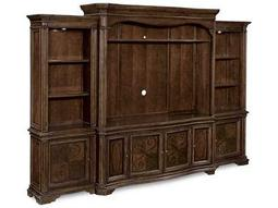 ART Furniture La Viera 18th Century Cherry Entertainment Console with Piers