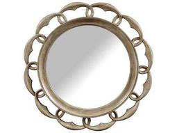 ART Furniture Pavilion Gypsum 44'' Wide Round Wall Mirror