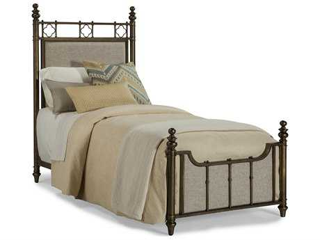 ART Furniture Pavilion Antique Brass Twin Size Panel Bed