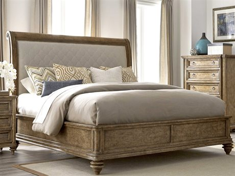 A.R.T. Furniture Pavilion Barley Eastern King Size Sleigh Bed