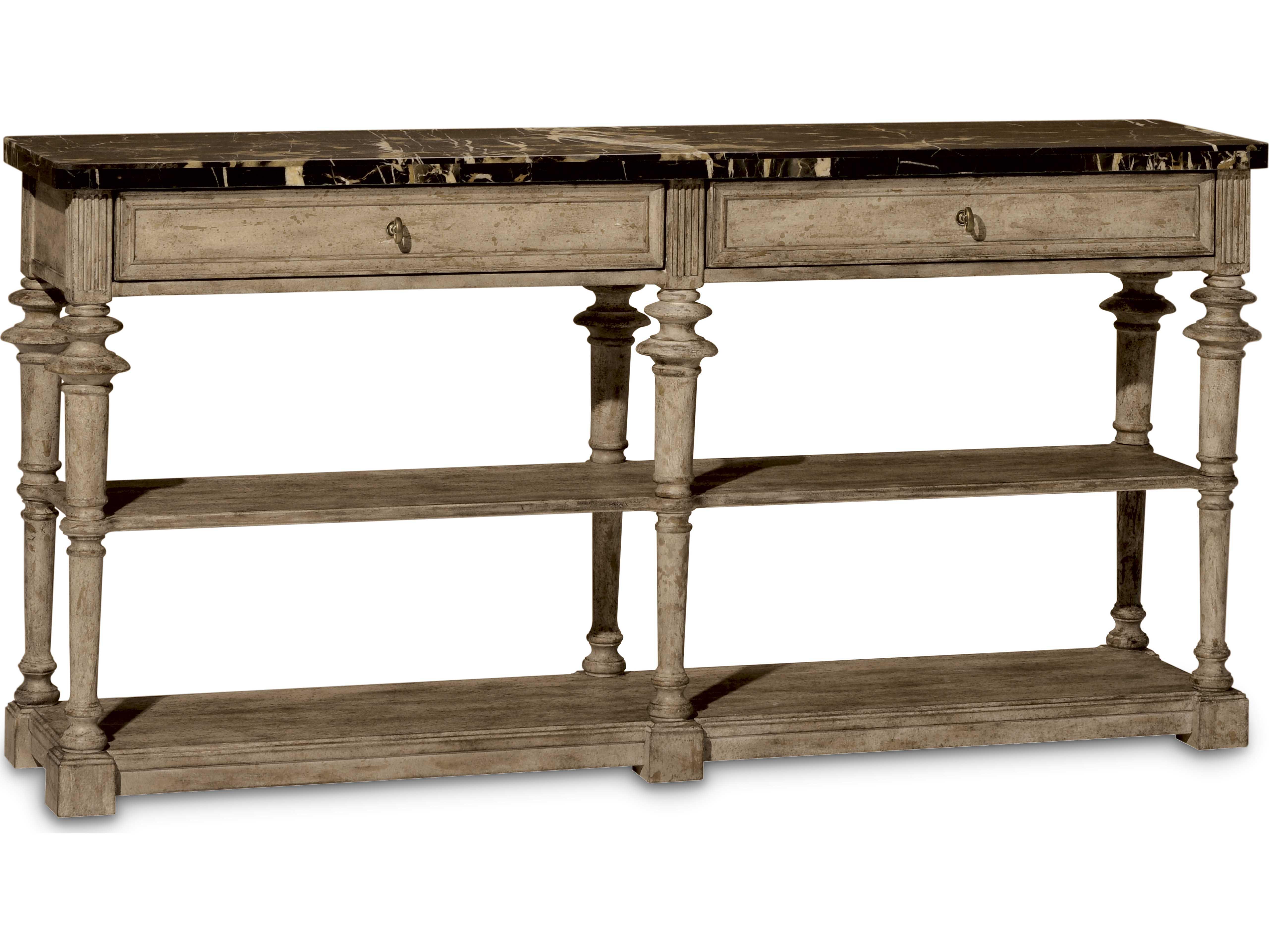 Art furniture pavilion gypsum 65 39 39 l x 15 39 39 w rectangular for 65 sofa table