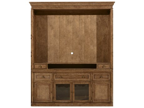 A.R.T. Furniture Pavilion Barley Entertainment Center Set