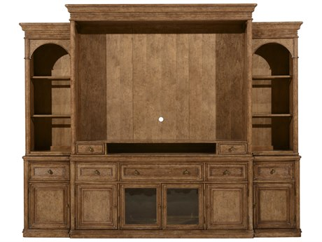 A.R.T. Furniture Pavilion Barley Entertainment Wall with Piers