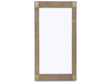 ART Furniture Cityscapes Hudson Gray Stone 47''W x 89''H Rectangular Floor Mirror