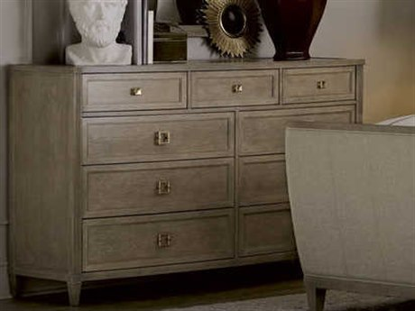 A.R.T. Furniture Cityscapes Whitney Stone Nine-Drawers Double Dresser