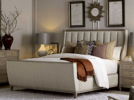 A.R.T. Furniture Cityscapes Chelsea Stone King Size Sleigh Bed