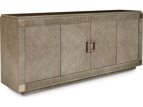 A.R.T. Furniture Cityscapes Hudson Stone 80''L x 18''W Rectangular Credenza