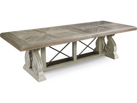A.R.T. Furniture Arch Salvage Pearce Parch 136''L x 46''W Rectangular Dining Table