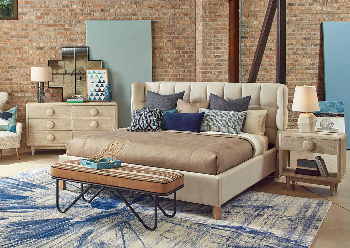 A R T Furniture Epicenters Austin North Loop Natural King Size Shelter Bed At2351361501