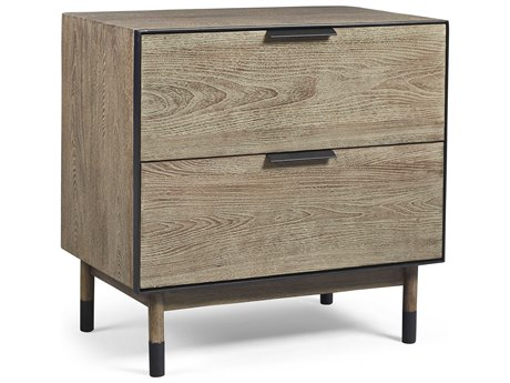 A.R.T. Furniture Epicenters Austin Teravista Wire Brushed 28''W x 18''D Nightstand