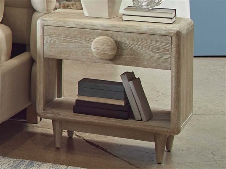 A.R.T. Furniture Epicenters Austin University Hills White-Washed 28''W x 18''D Nightstand AT2351422832
