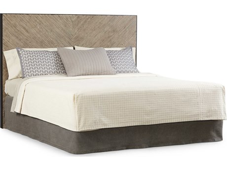 A.R.T. Furniture Epicenters Austin Cedar Park Wire Brushed Queen Size Panel Bed