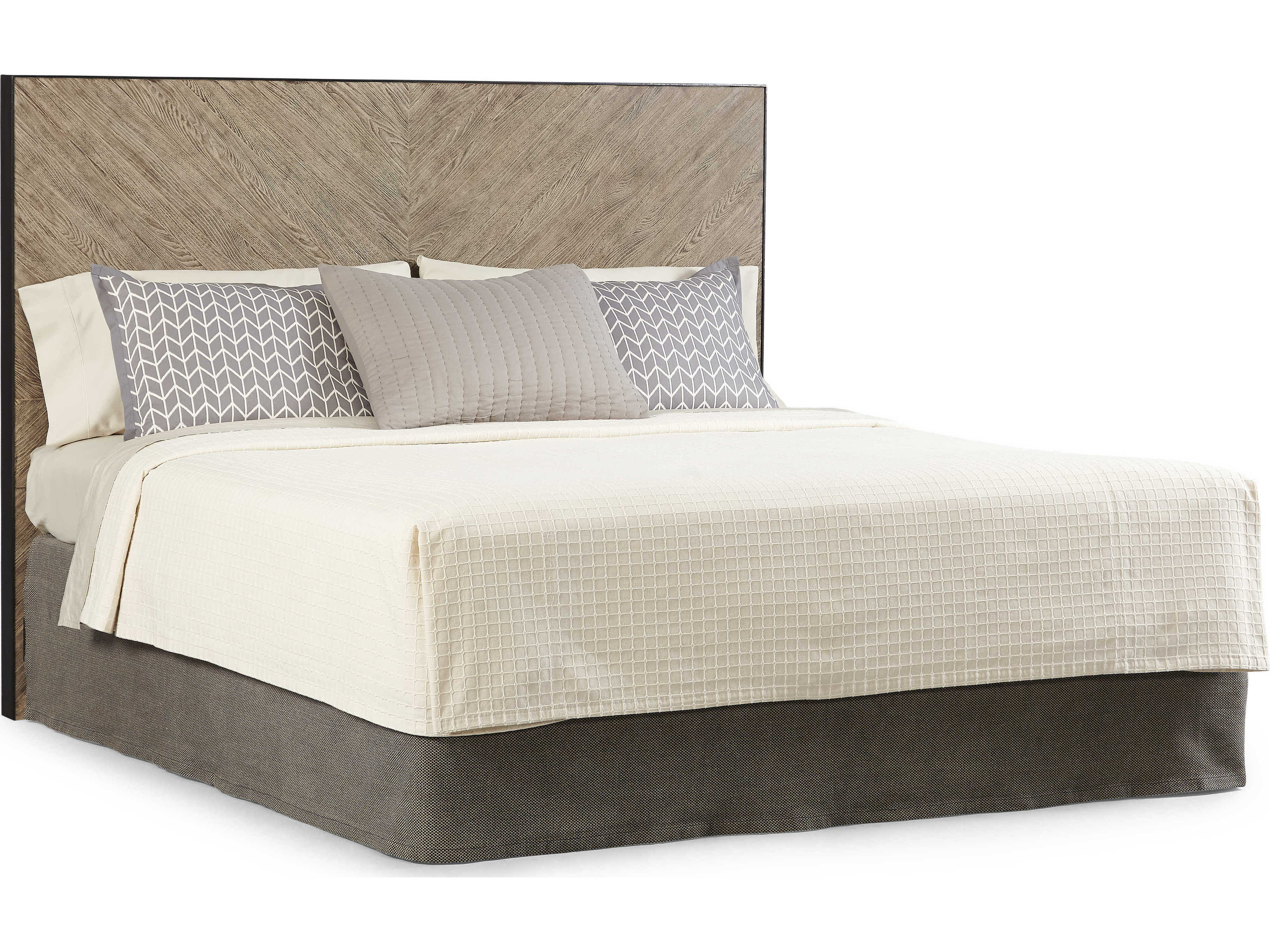 A R T Furniture Epicenters Austin Cedar Park Wire Brushed King Size Panel Bed At2351462839