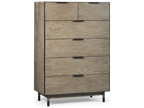 A.R.T. Furniture Epicenters Austin Teravista Wire Brushed 38''W x 19''D Six Drawers Chest of Drawers