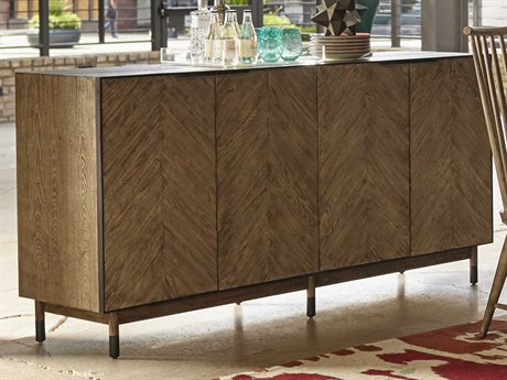 A.R.T. Furniture Epicenters Austin Cedar Park Wire Brushed 72''L x 19''W Rectangular Sideboard