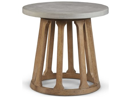 A.R.T. Furniture Epicenters Austin Fountainwood Natural 26'' Wide Round End Table