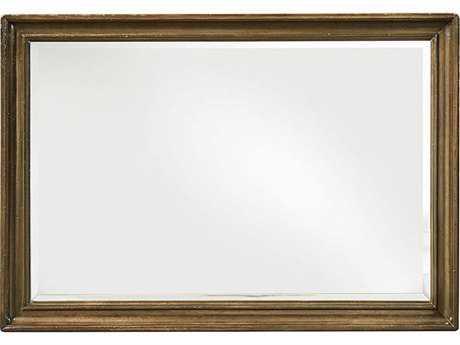 ART Furniture Continental Weathered Nutmeg 50''W x 34.5''H Rectangular Landscape Mirror