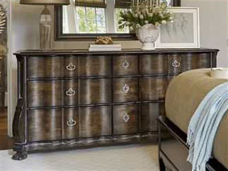 A.R.T. Furniture Continental Vintage Melange Triple Drawer Dresser