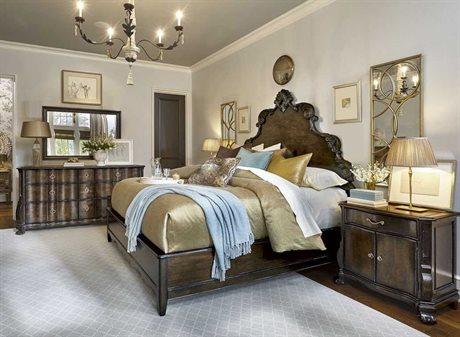 A.R.T. Furniture Continental Vintage Melange Bedroom Set