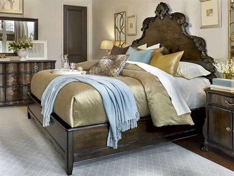 A.R.T. Furniture Continental Vintage Melange King Size Panel Bed