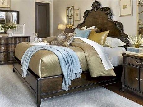 A.R.T. Furniture Continental Vintage Melange California King Size Panel Bed