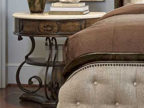 ART Furniture Continental Vintage Melange & Glazed Ingot 32''W x 18''D Nightstand
