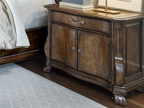 A.R.T. Furniture Continental Weathered Nutmeg 33''W x 19.5''D Rectangular Nightstand AT2371422624