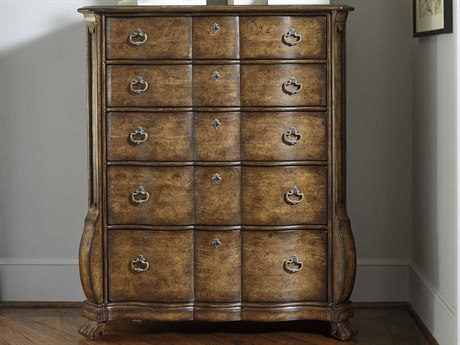 A.R.T. Furniture Continental Weathered Nutmeg 47''W x 20'' Rectangular Chest of Drawers
