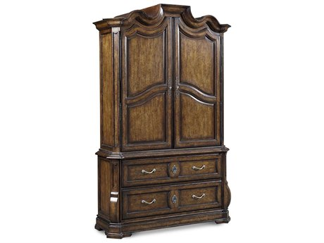 A.R.T. Furniture Continental Weathered Nutmeg Armoire