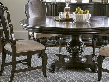 A.R.T. Furniture Continental Vintage Melange Splat Back Dining Side Chair (Sold in 2)