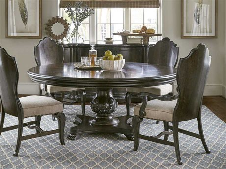 A.R.T. Furniture Continental Vintage Melange Dining Room Set
