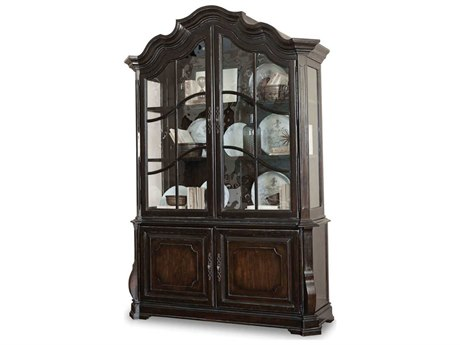 A.R.T. Furniture Continental Vintage Melange Display China Cabinet