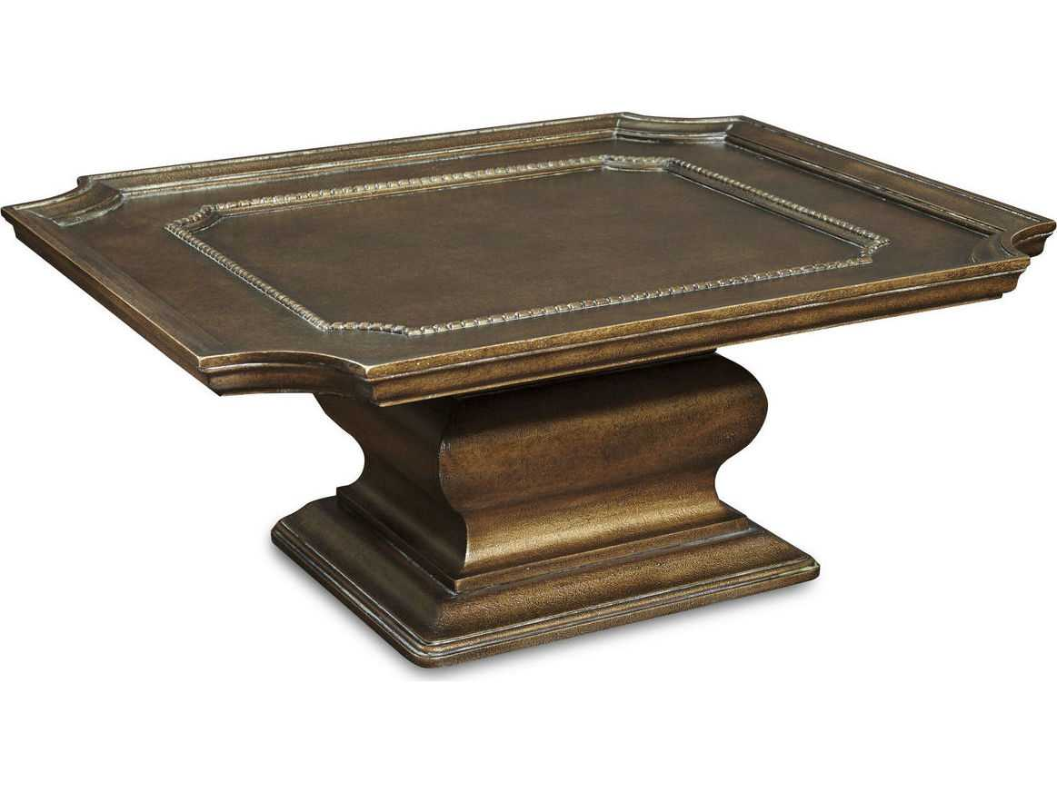 ART Furniture Continental Crackled Bronze 42 39 39 Wide Square