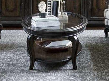 A.R.T. Furniture Continental Vintage Melange 54''L x 34''W Oval Cocktail Table