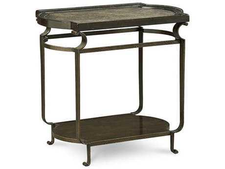 ART Furniture Continental Vintage Melange & Glazed Ingot 21''L x 29''W Rectangular End Table