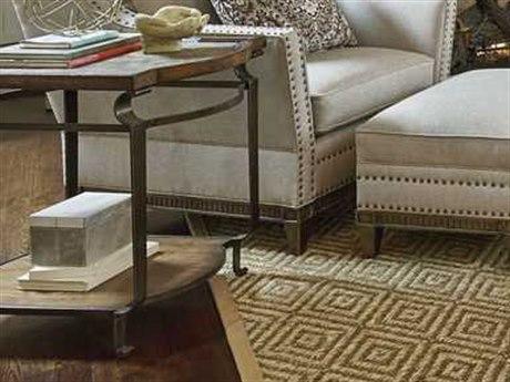 A.R.T. Furniture Continental Weathered Nutmeg & Glazed Ingot 21''L x 29''W Rectangular End Table