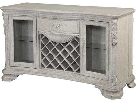 ART Furniture Renaissance Dove Grey with Silver Tipping 66''L x 24''W Rectangular Buffet