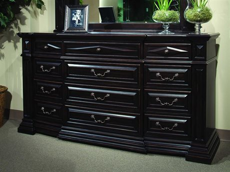 marbella furniture collection. a.r.t. furniture marbella noir twelve drawer dresser collection