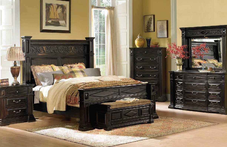 A.R.T. Furniture Marbella Noir Queen Panel Bed