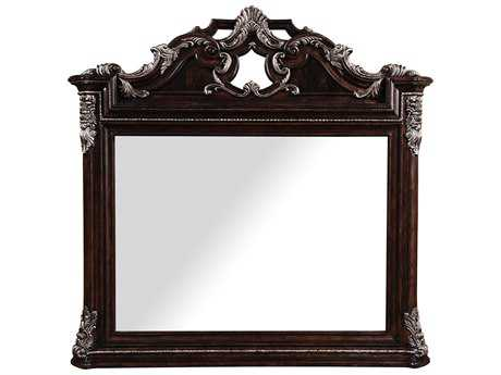 ART Furniture Gables 18th Century Cherry 56''W x 53''H Landscape Wall Mirror