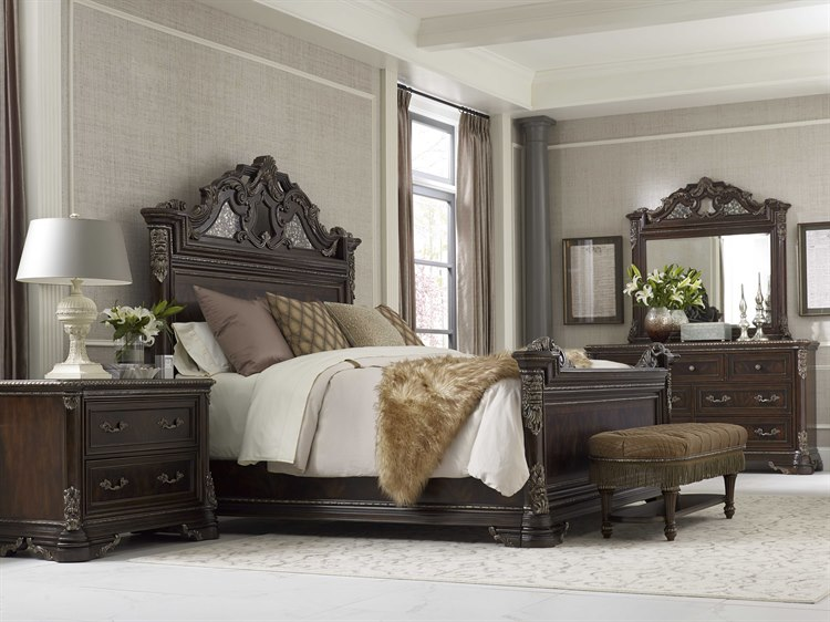 A.R.T. Furniture Gables Sleigh Bedroom Set | AT2451351707SET