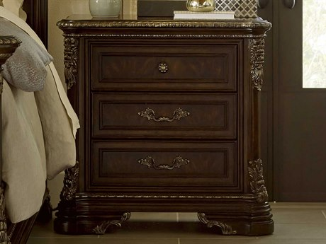 A.R.T. Furniture Gables 18th Century Cherry 33.5''W x 18.5''D Rectangular Nightstand AT2451401707