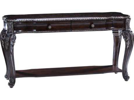 ART Furniture Gables 18th Century Cherry 60''L x 21''W Rectangular Console Table