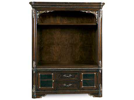 ART Furniture Gables 18th Century Cherry Entertainment Center Set